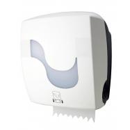 Automatický zásobník na papierové uteráky v roli - biely CELTEX AUTOCUT