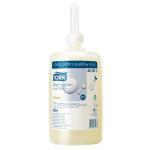 Systém Tork na umývanie a čistenie rúk spĺňa tie najnáročnejšie požiadavky a zaisťuje dokonalú hygienu. Zásobník tekutého mydla a nový dizajn obalov mydiel a čistiacich prostriedkov boli optimalizované tak, aby fungovali v dokonalej harmónii a aby ich bolo možné ľahko a rýchlo dopĺňať. m S1 - Systém tekutého mydla, Objem: 1.0 l