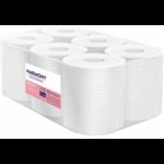 Papierové uteráky v roli so stredovým odvíjaním Harmony Professional,materiál: celulóza, počet vrstiev: 2, priemer rolky: 190 mm, dĺžka: 125 m, počet balení v kartóne: 6, dĺžka útržku: 250 mm, šírka útržku: 200 mm.