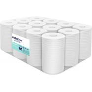 Papierové uteráky v roli so stredovým odvíjaním Harmony Professional Midi, 2vr., recykel, biele, 55m