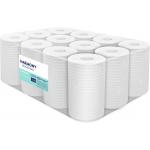 Papierové uteráky v roli so stredovým odvíjaním Harmony Professional,materiál: recykel, počet vrstiev: 2, priemer rolky: 130 mm, dĺžka: 55 m, počet balení v kartóne: 12, dĺžka útržku: 250 mm, šírka útržku: 200 mm.