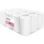 Papierové uteráky v roli so stredovým odvíjaním Harmony Professional,materiál: celulóza, počet vrstiev: 2, priemer rolky: 130 mm, dĺžka: 55 m, počet balení v kartóne: 12, dĺžka útržku: 250 mm, šírka útržku: 200 mm.