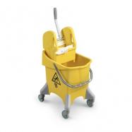 Upratovací vozík TTS Pile, žltý