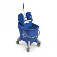 Upratovací vozík TTS Pile, modrý