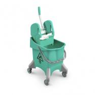 Upratovací vozík TTS Pile, zelený
