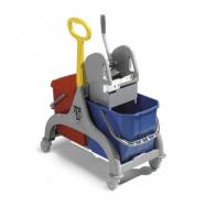 Upratovací vozík TTS Nick 2, šedý