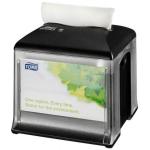 Garantujeme, že systém dávkovania utierok Tork Xpressnap® zníži spotrebu obrúskov minimálne o 25% v porovnaní s tradičnými zásobníkmi. Pomôže Vám tak znížiť náklady a množstvo odpadu. Systém N10 - Systém ubrúskovTork Xpressnap Snack ™, Materiál: Plast, Farba: Čierna, Šírka: 149 mm, Výška: 157 mm, Hĺbka: 149 mm