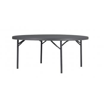 Rautový skladací stôl ZOWN PLANET 180 - NEW - Ø180 cm