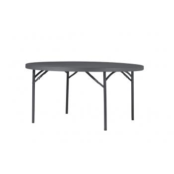 Rautový skladací stôl ZOWN PLANET 150 - NEW - Ø152 cm