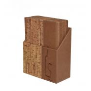 Box s vínovými lístkami Securit Design - korok
