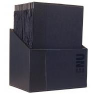 Box s jedálenskými lístkami Securit Trendy - modrá