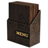 Box s jedálenskými lístkami Securit Design - Paisley