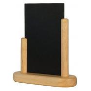Stolný stojanček Securit s popisovacou tabuľkou malý - Plain