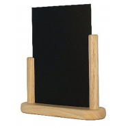 Stolný stojanček Securit s popisovacou tabuľkou stredný - Plain