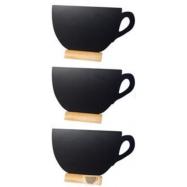 3 stojančekové Securit tabuľky CUP