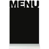 Stolná popisovacia tabuľa Securit s hliníkovým stojanom a 1 popisovačom MENU
