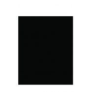 Popisovacia tabuľa Securit Silhouette 35 x 30 vr. popisovače a upevňovacie pásky na stenu - čierna