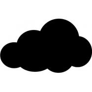 Popisovacia tabuľa Securit Silhouette MRÁČIK, vr. popisovača a upevňovacej pásky na stenu - čierna