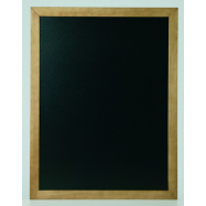 Nástenná tabuľa Securit 40 x 50 cm - Teak