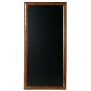Nástenná tabuľa Securit 56 x 100 cm - tmavo hnedá