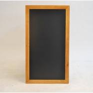 Nástenná tabuľa Securit 56 x 100 cm - Teak