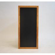 Nástenná tabuľa Securit 56 x 120 cm - Teak