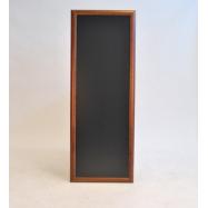 Nástenná tabuľa Securit 56 x 150 cm - tmavo hnedá