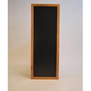 Nástenná tabuľa Securit 56 x 150 cm - Teak