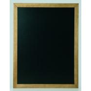Nástenná tabuľa Securit 70 x 90 cm - Teak