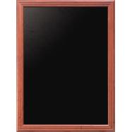 Nástenná tabuľa Securit 70 x 90 cm - Mahagón