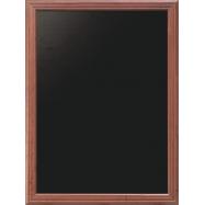 Nástenná tabuľa Securit 80 x 100 cm - Mahagón