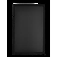 Nástenná obojstranná tabuľa 70 x 90 cm Securit Universal - čierna