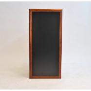 Nástenná tabuľa Securit 56 x 120 cm - tmavo hnedá
