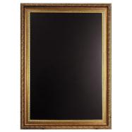 Nástenná tabuľa Securit 75 x 105 cm - zlatá
