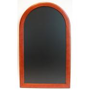 Nástenná tabuľa Securit Rondo 60 x 105 cm - Mahagon