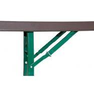 Rautový skladací stôl ZOWN MUNICH 70