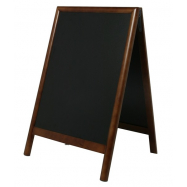 A - tabuľa 55 x 85 cm Securit Duplo - tmavo hnedá