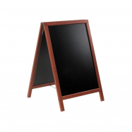A - tabuľa 55 x 85 cm Securit Duplo - Mahagón