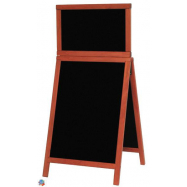 A - tabuľa 55 x 120 cm Securit Duplo Top - Mahagón