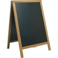 A - tabuľa 55 x 85 cm Securit Duplo - Teak