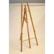 Drevený stojan Securit 165 cm vysoký - Teak