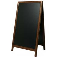 A - tabuľa 68 x 120 cm Securit Sandwich - tmavo hnedá