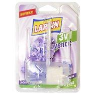LARRIN WC ZÁVES DUO Provence fialový (komplet, blister), 40g