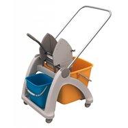 Upratovací vozík s plastovou konštrukciou MO2P