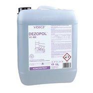 Umývací a dezinfekčný prostriedok plôch Merida DEZOPOL 10l - konc.