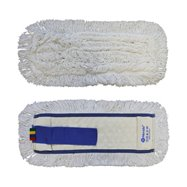 Mop plochý uzlíčkovať s vreckami OPTIMUM, bavlna, 40 cm (predtým MO20)
