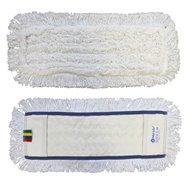Mop plochý uzlíčkovať s vreckami OPTIMUM, bavlna, 50 cm (predtým MO21)