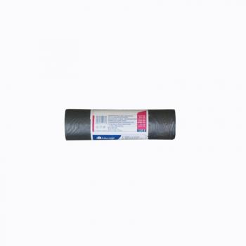 Zaťahovacie vrecia na odpadky MDPE, 19 mi, 70x100 cm, 1-vrst., 120 l, 10 ks/b