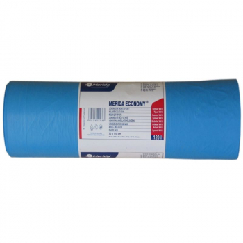 Vrecia na odpadky HD + LL 19 mi, 70x110cm, 120 l, modré 50 ks/b