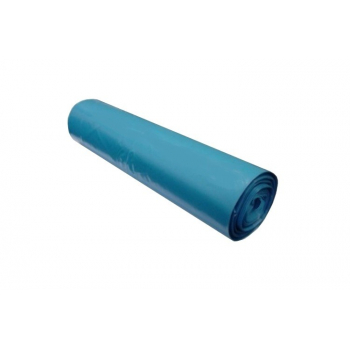 Vrecia na odpadky LDPE, 80 mi, 70x110cm, 120 l, modré 15ks/b